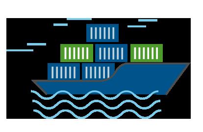 Icono de transporte maritimo Tracosa