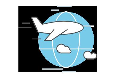 Icono Transporte Aéreo Tracosa